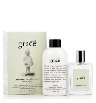 Eternal Grace Perfumed Shampoo, Bath & Shower Gel and Spray Fragrance by Philosophy