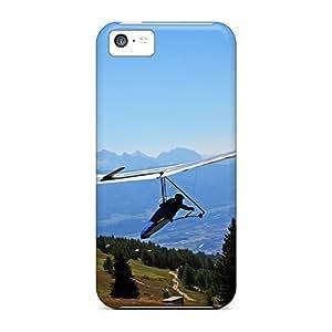 GoldenArea Premium Protective Hard Case For Iphone 5c- Nice Design - Glider