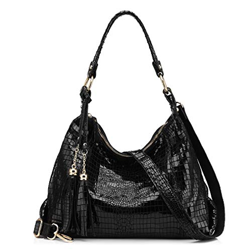 Black Bag Tassel with Hobos Shoulder Bag Xwdpnq