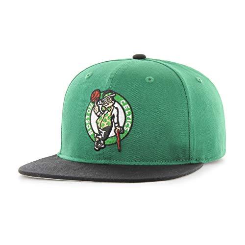OTS NBA Boston Celtics Men's Gallant Varsity Snapback Adjustable Hat, Team Color, One Size