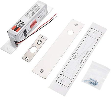 電気ボルトロック アクセス制御 セキュリティアクセスコントロール デッドボルトドロップボルト NCモードドアロック インテリジェントロック 電子安全ロック