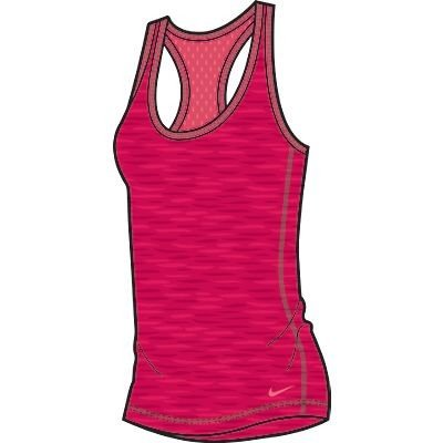 NIKE Women's Get Lean Tank Top - Size: Xl, Legion Red/geranium
