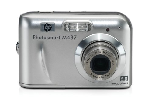 Cheap HP Photosmart M437 5MP Digital Camera with 3x Optical Zoom