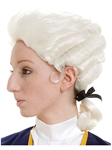 Peter Alan Inc - Colonial Wig Male Child - One Size (Founding Fathers Costumes)
