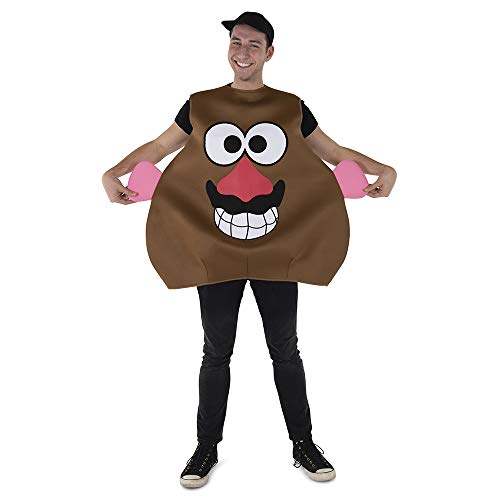 Dress Up America Mr. Potato Costume for Adults - Product Comes Complete with: Tunic and Hat Brown]()