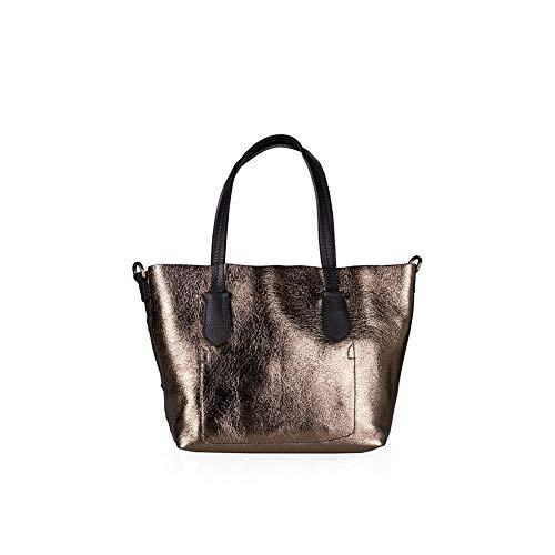 Borsa Shopping Pepe Patrizia Donna Silver dark nero 2v7802a4p0i2yo 5qBpvBP