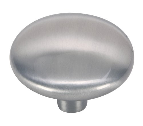 Hardware House 64-4583 Contractor Pack Round Cabinet Knob, Satin Nickel, 10-Pack