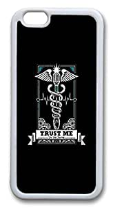 iphone 6 plus 5.5inch Case and Cover Trust Me Im A Doctor TPU Silicone Rubber Case Cover for iphone 6 plus 5.5inch White by Maris's Diaryby Maris's Diary