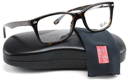 Ray-Ban RX5228 2012 Highstreet Unisex Eyeglasses Dark Havana Frame - Ray Rx5228 Ban Glasses