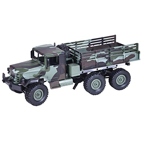 Military Off-Road RC Toys, MN-77 2.4G 1:16 4WD Truck RC Car with LED Lights RTR,Strong Power,Gifts for Kids and Adults