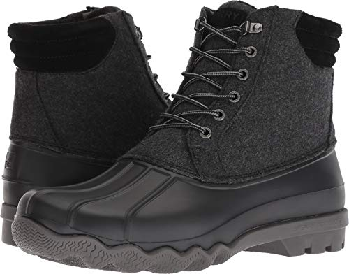 SPERRY Men's Avenue Duck Wool Rain Boot, Grey, 8.5 M US