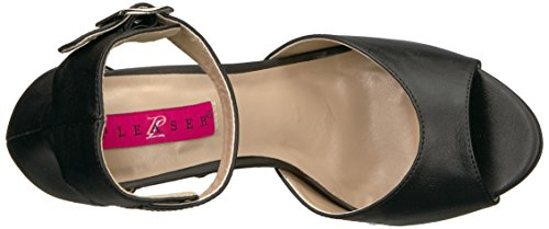 Leather Nero Bpu Pink con Plateau EVE02 Faux B Scarpe Donna Blk Label Pleaser nPS78qxwfS