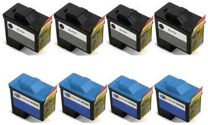 592-10039/_4PK//592-10040/_4PKMP SuppliesMAX Compatible Replacement for Dell A720//A920 Inkjet Combo Pack 4-Black//4-Color Series 1
