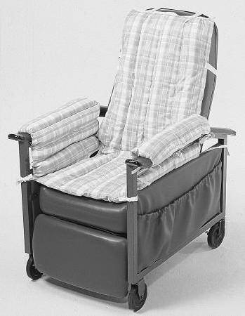 Posey 6526G Comfy Seat Geri Chair Cushion