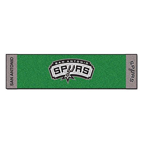 Fanmats NBA San Antonio Spurs Nylon Face Putting Green Mat by Fanmats