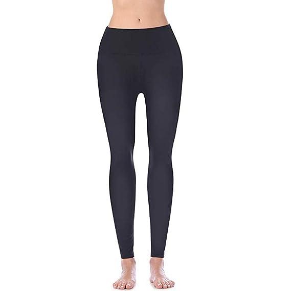 Amazon.com: Xinantime - Leggings de yoga para mujer, cintura ...