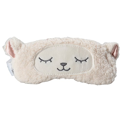 Gent House Love Lambs Wool Patch Eye Mask Cute Plush Sheep Sleeping Eye Cover Blinder