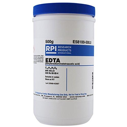 Ethylenediaminetetraacetic acid [EDTA], 500 Grams