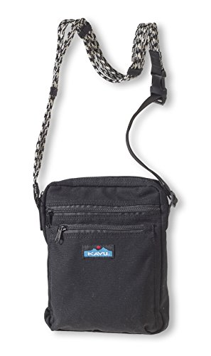 KAVU Women's Zippit Bag, Black, One Size