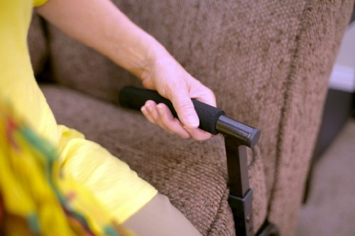 Able Life Universal Stand Assist - Adjustable Standing Mobility Aid + Assist Handle for Couch Chair & Sofa + Dual Cushioned Support Handles for Fall Protection