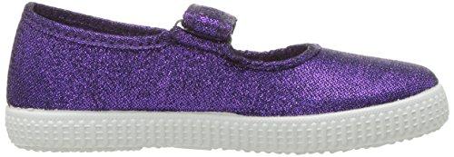 Cienta 56013 Glitter Mary Jane Fashion Sneaker,Purple,27 EU (9.5 M US Toddler) by Cienta (Image #7)