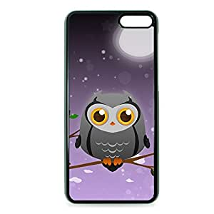 Case Fun Case Fun Grey Owl by DevilleART Snap-on Hard Back Case Cover for Amazon Fire Phone
