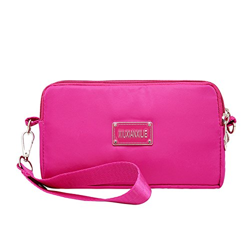 Lady Finger / Hand Bag / Clutch Bag / Nylon Fabric / Small / Bag Cosmetics Bag-b B
