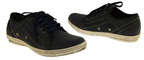 Studio chiusa Blu Footwear uomo Blu Punta zqSwdg1x