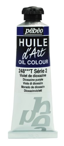 Pebeo Huile d'Art Tube, 37ml, Dioxazine Purple