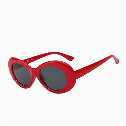 protección UV400 exteriores F Playa de viajar Caminante de UN ejecutando Eeywear Vintage sol Retro moda mujer Oval sombras SYXSN clásica Gafas conducción Zax1qOwg1
