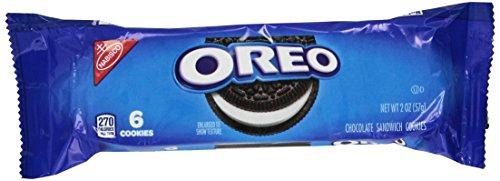 Oreo Smile Chocolate Sandwich Cookies - 30 Packs of 6 Cookies / 2 oz by Oreo