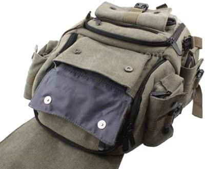 Army Green CYcaibang Professional Camera Bag Backpack Digital Camera Bag