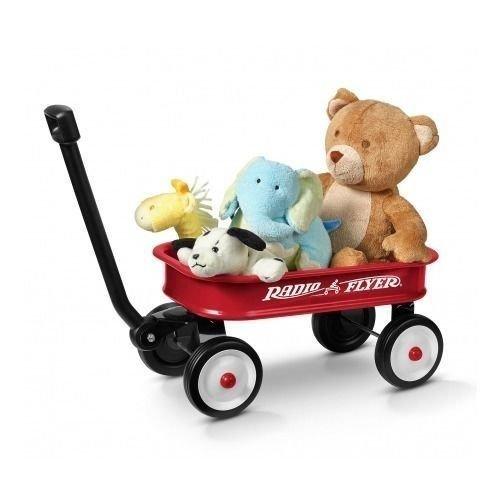 Babys Red Wagon - Radio Flyer 5 Kids` 12.5