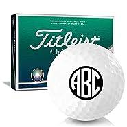 Titleist AVX Monogram Personalized Golf Balls