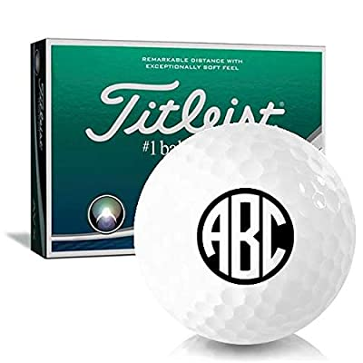 Titleist AVX Monogram Personalized Golf Balls