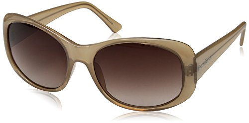 Cole Haan Women's Ch7006s Cateye Sunglasses, Milky Sand, 59 - Sunglasses Cole Womens Haan