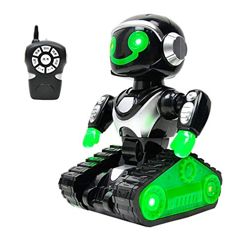 OD'lover Toddler Intelligent RC Smart Robot Music Dance Robot Kids Education Toys Toy Organizers from OD'lover
