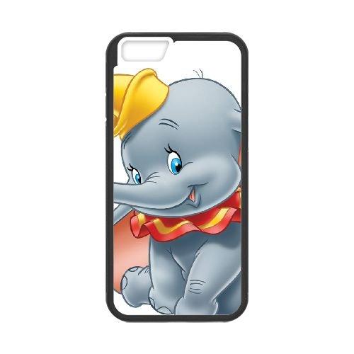 Dumbo 010 coque iPhone 6 Plus 5.5 Inch Housse téléphone Noir de couverture de cas coque EOKXLLNCD18185