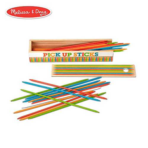 Pick Up Stix Game - Melissa & Doug Wooden Pick-Up Sticks