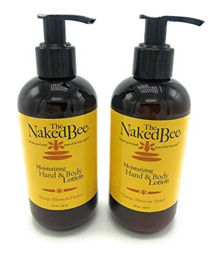 Cream Facial Orange Blossom (The Naked Bee Orange Blossom Honey Hand & Body Lotion, 8 oz, 2 Pack)
