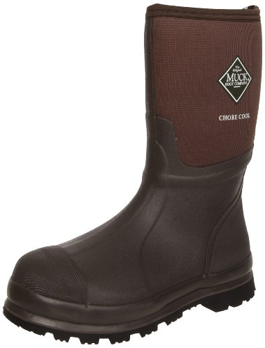 Image of the MuckBoots Chore Cool Mid Waterproof Work Boot,Brown,10 M US Mens/11 M US Womens