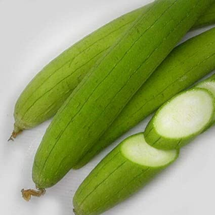 Asian Vegetable Edible Luffa seeds Muop Huong by Kitchenseeds long Smooth sponge gourd 20