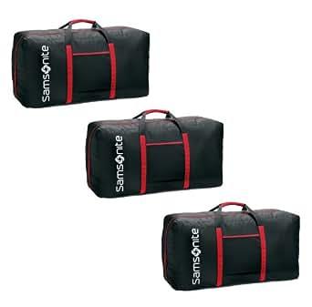 Samsonite Tote-a-ton 32.5 Inch Duffle Luggage, Black , 3 pieces