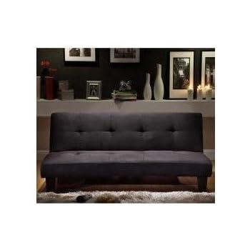 Amazon Com Microfiber Suede Mini Sofa Bed Kitchen Dining