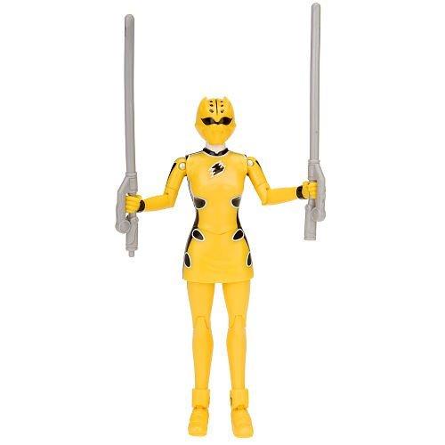 Power Rangers Jungle Fury Cheetah Ranger - Yellow