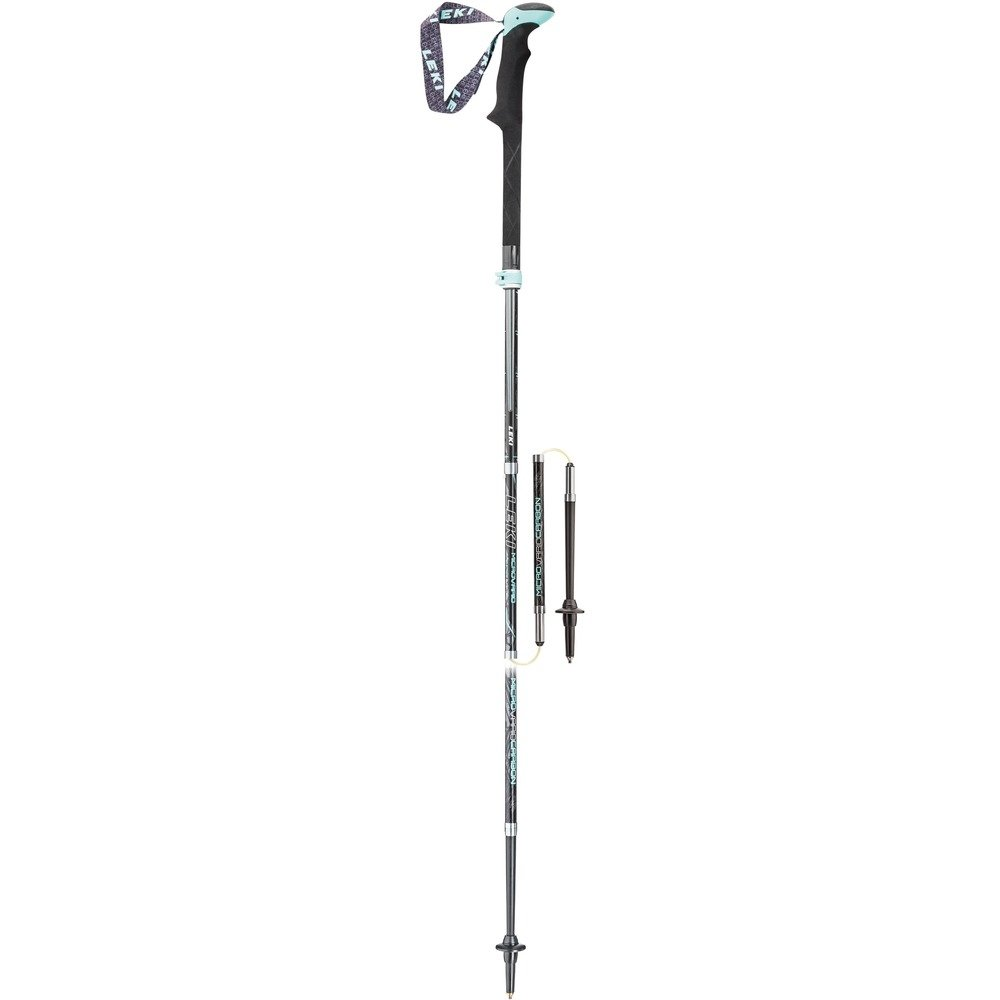 Leki Micro Vario Carbon Lady Walking Poles - Pair by Leki   B01B4OOMQS