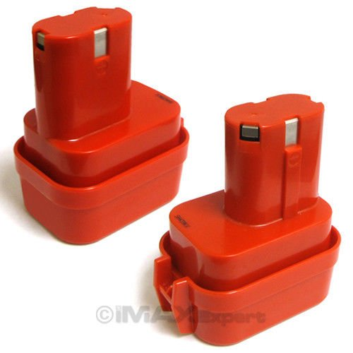 Makita Hand Held Vacuums (2 x 9.6V 9.6 VOLT Battery for MAKITA 9100 9101 9102 2.0AH Power Tool)