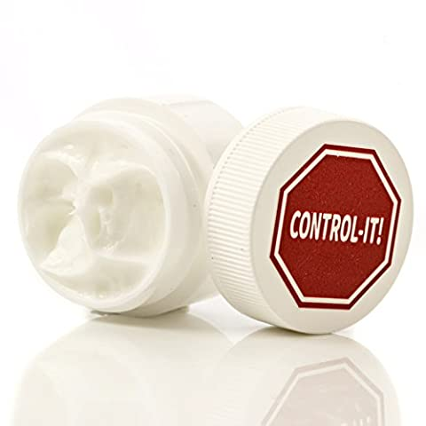 Control-It Helps Stop Nail Biting and Thumb Sucking. 4 Jar Package. All-Natural. Safe for Children. One Month's (Nail Biting For Kids)