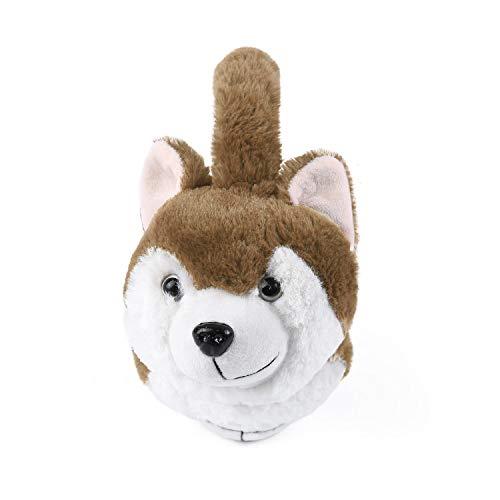 Surblue Winter Warm Dog Ear Earwarmer Knitted Earmuffs (Brown, F) (Light Bown, F) ()