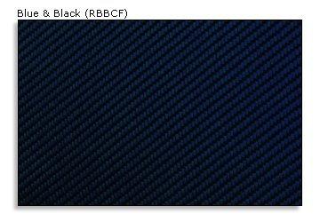 WOW Trim DGE-13C-RBBCF 13C Dodge Durango Without Rear Door Panels, 17 Pcs., Real Blue & Black Carbon Fiber